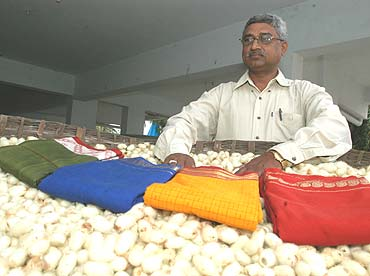 Ahimsa Silk: Silk Saree without killing a single silkworm