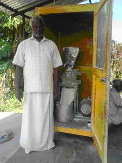 Invention: Pin Pulverizer by Mr. Vivekanandan