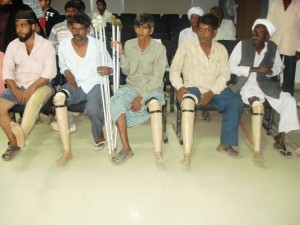 Artificial Limb Distribution Camp