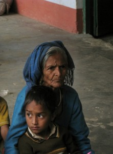 Old and kids go hungry - there are residents of New Didsari who have now shifted to the Primary school above their village