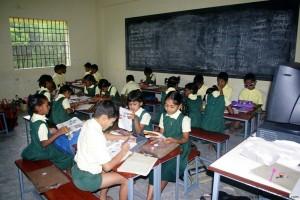 Sevalaya runs the Mahakavi Bharathiyar Higher Secondary School, where Computer education is part of lower classes too