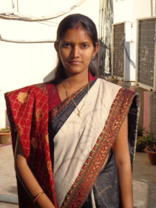 Shalini Gupta, who heads the Domchach block in Koderma district, is a vocal anti-corruption campaigner and along with her team of village women representatives, keeps a keeps a sharp eye on the working of the anganwadis. (Credit: Saadia Azim\WFS)