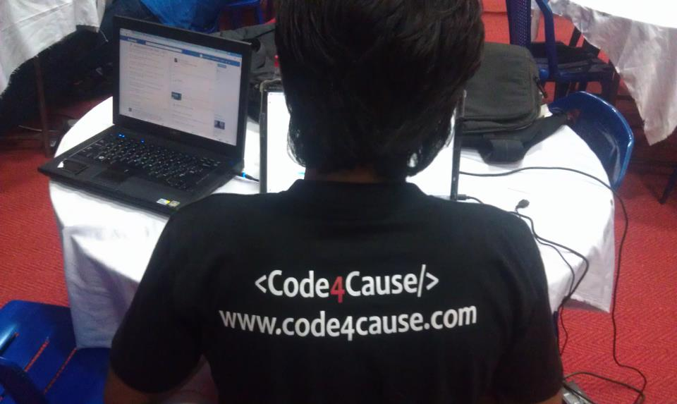 Now Code For Humanity With Code4Cause
