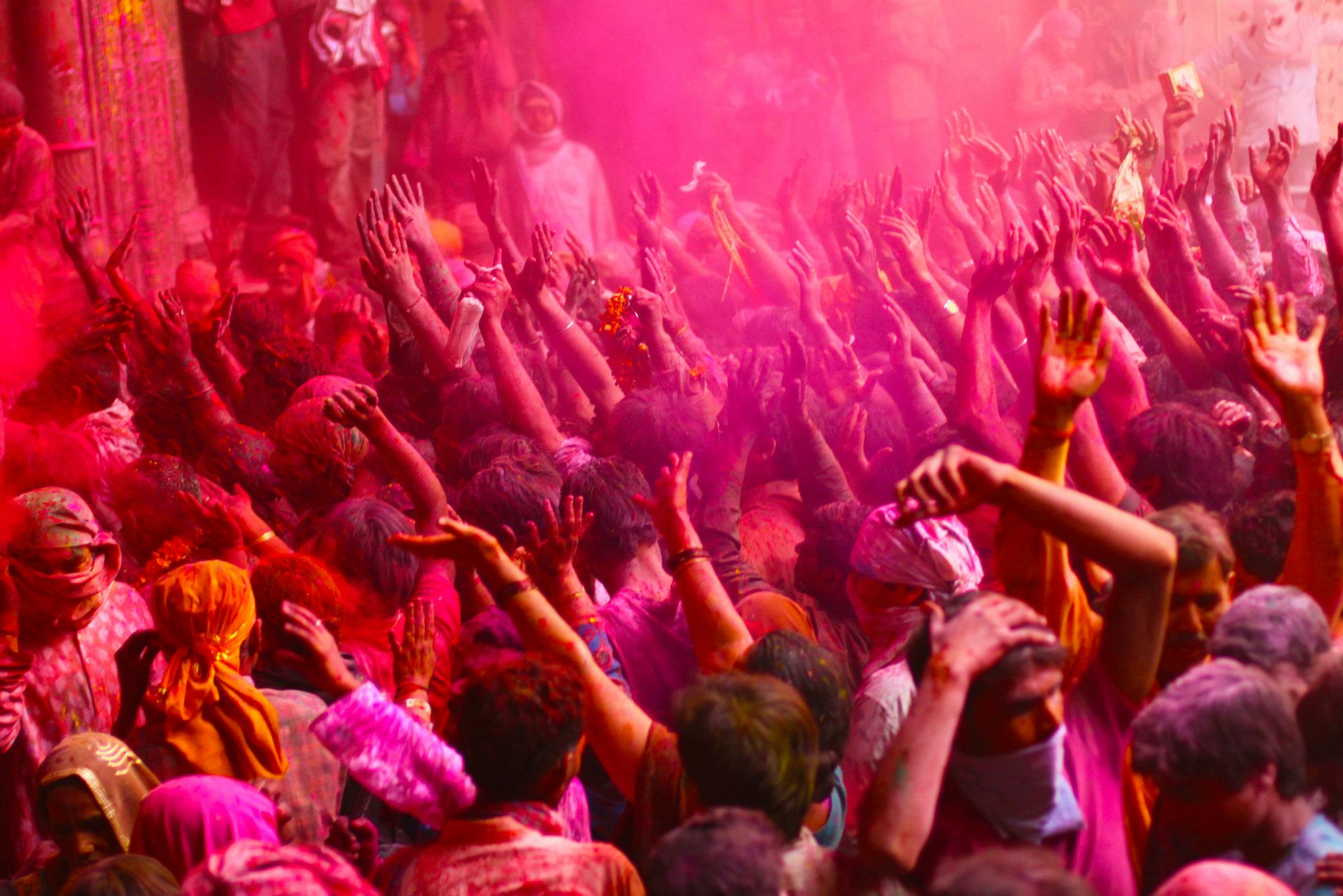 Photo Story: A Glimpse Of Holi In Vrindavan And Mathura