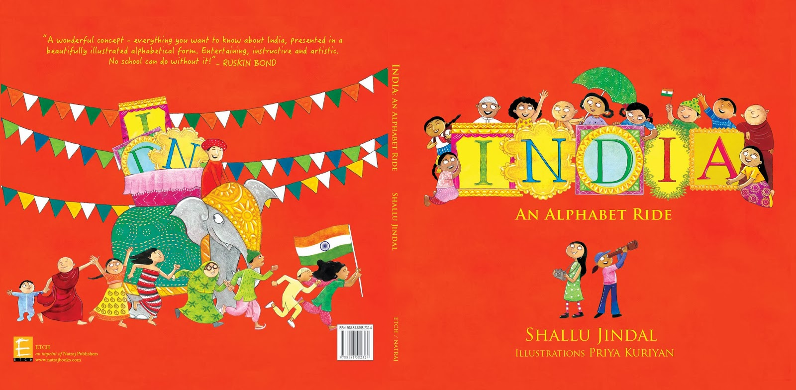 Take Your Children On An Unusual Journey Of India – An Alphabet Ride