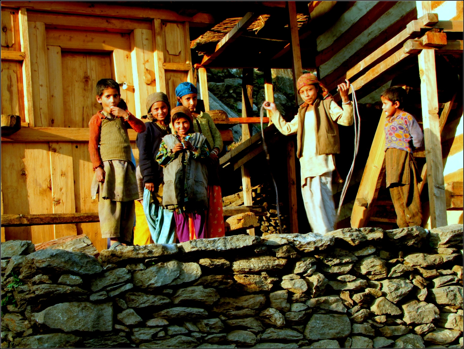In Photos: The Resplendent Colours Of Spring In A Himalayan Village