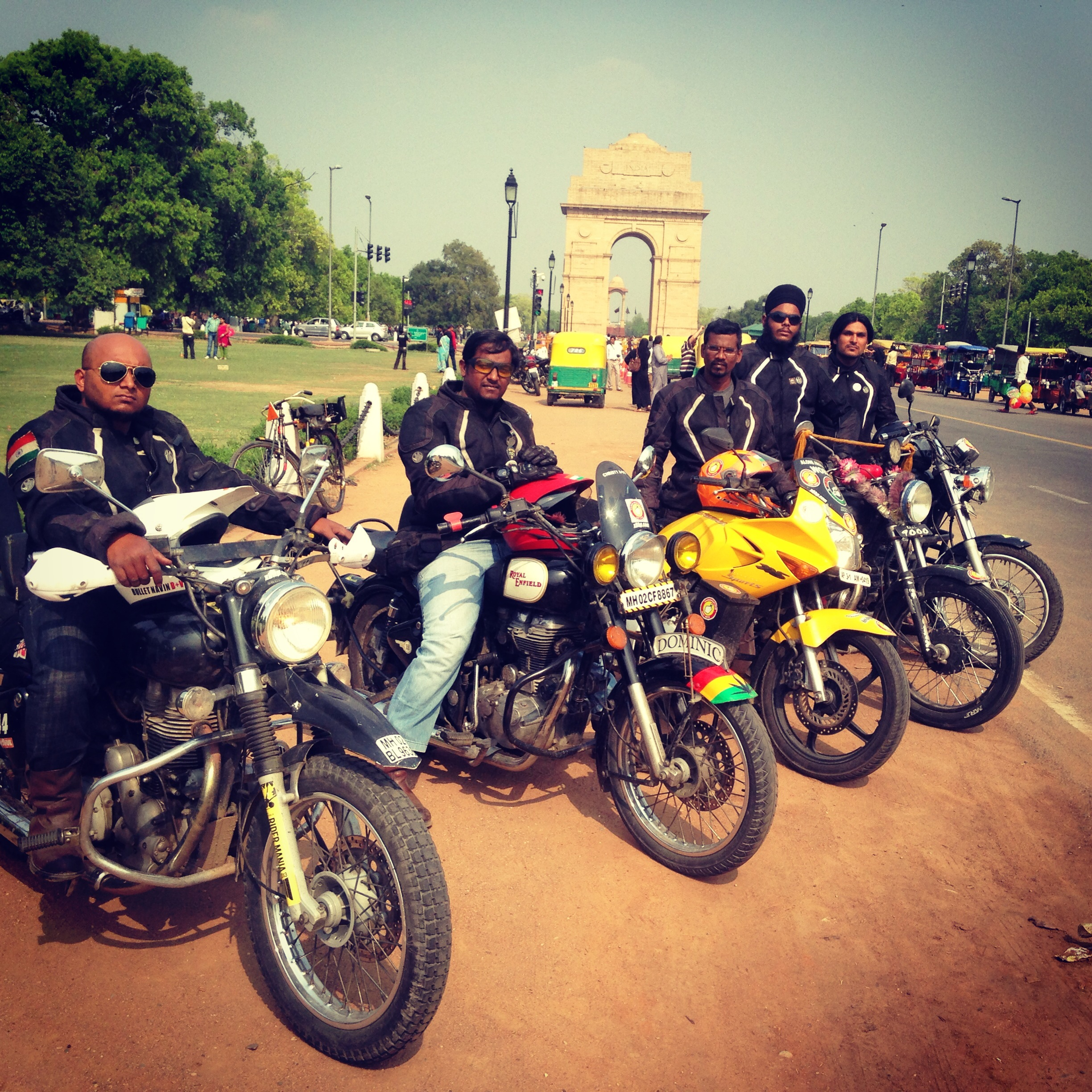 Getting People To Vote Mattered To These Bikers So Much That They Rode 15,000 Kms For It!
