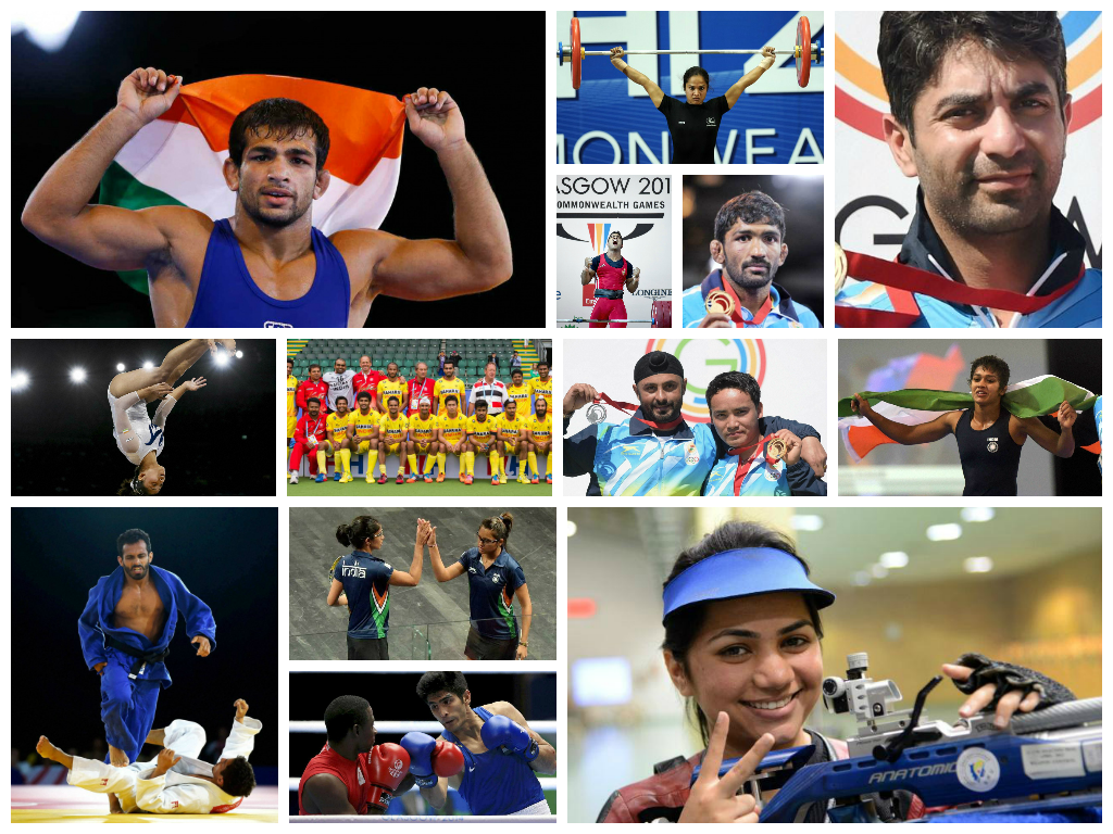 In Photos: The Indian Medal Winners From The CommonWealth Games 2014