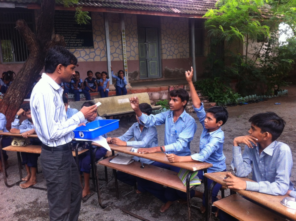 The Rural School Teacher Who Keeps His Students Updated With The Latest News Around The World
