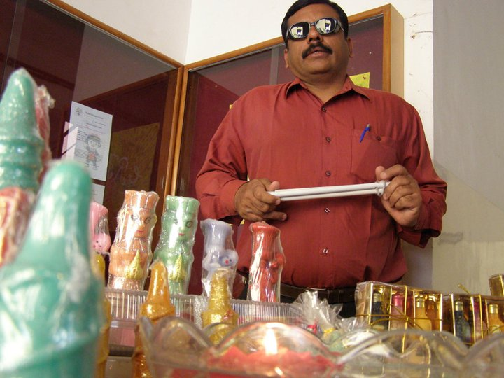 Having Lost His Eye Sight, He Built A Successful Company With 200 Other Visually Impaired People
