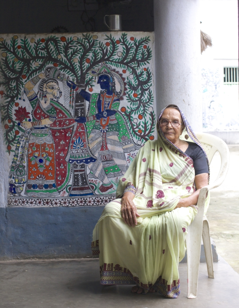 IN PHOTOS: How Madhubani Art Is Undergoing A Transformation – By Women Artists In Bihar!