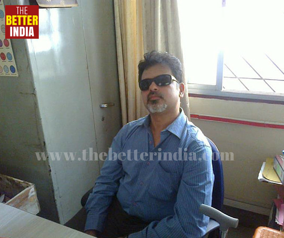 Declared 'Brain Dead' By Doctors, This Visually Impaired Man Is A Successful Counselor Now