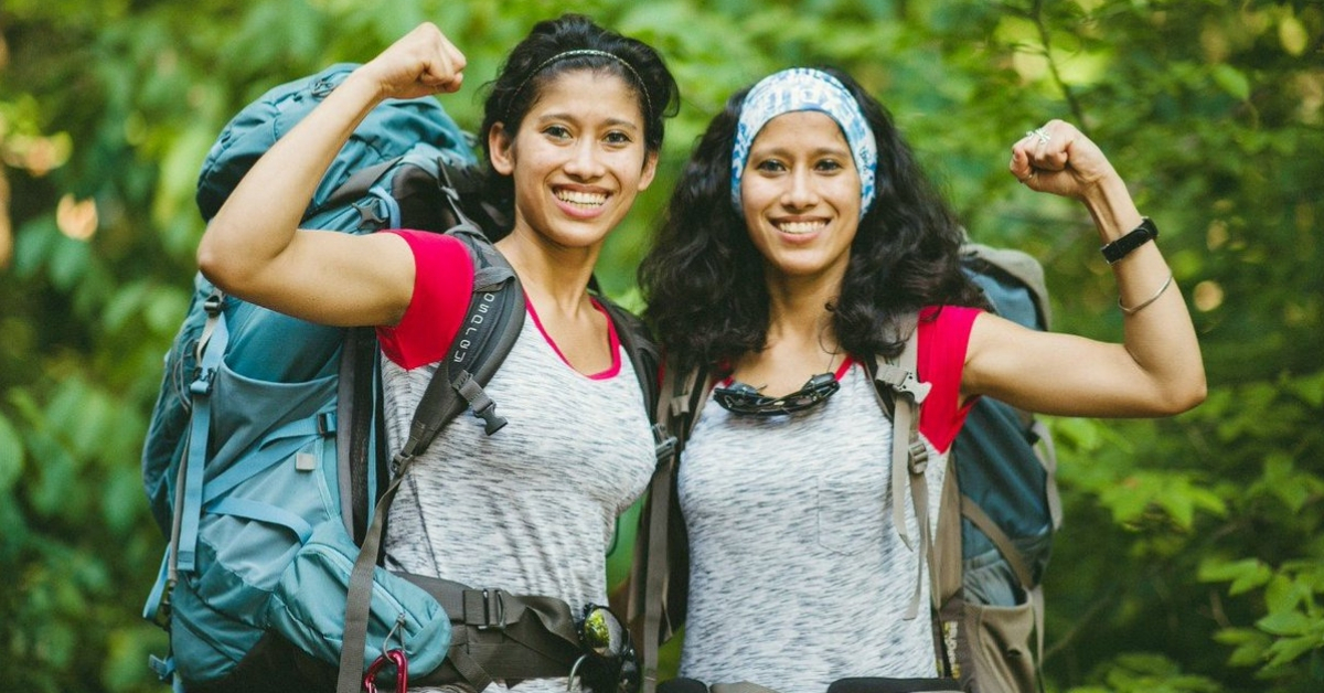 Meet The World's First Twin Sisters To Scale The Top 7 Summits On The Planet!