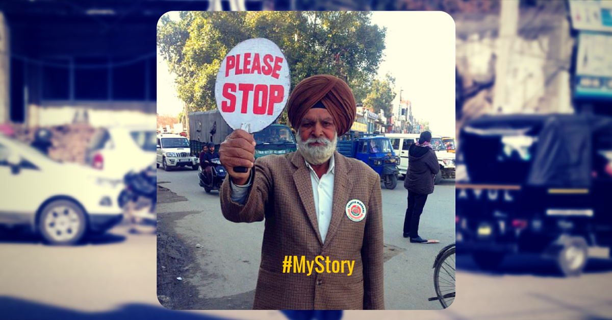 MY STORY: This Retired Senior Citizen Uses His Time And Savings To Control City Traffic