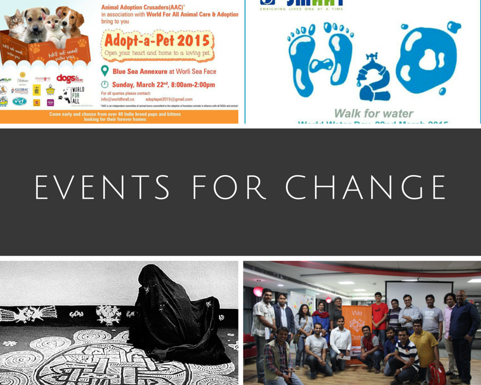 Events To Attend This Week (20/03/15 – 26/03/15)