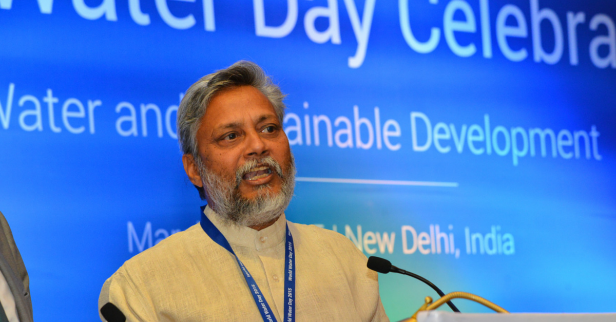NEWS: The Water Man of India Wins 2015 Stockholm Water Prize