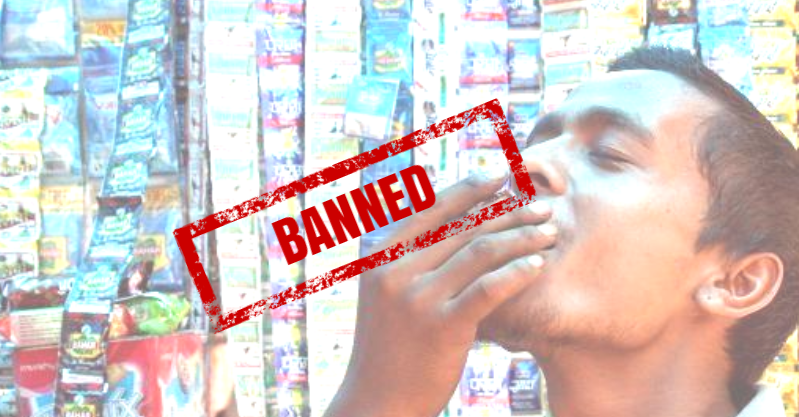 NEWS: Delhi Government Bans The Sale & Purchase Of All Forms Of Chewable Tobacco