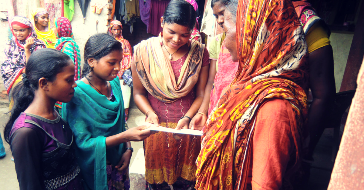 Muslim Girls As Young As 14 Are Giving Family Planning Lessons In Their Village In Bihar