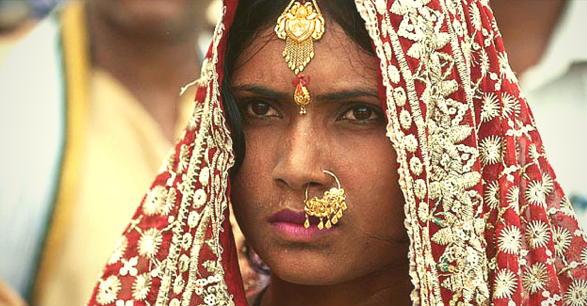 This Newly Wed Bride Ran Away From Her Home. We Hope Many Other Girls Do This Too.