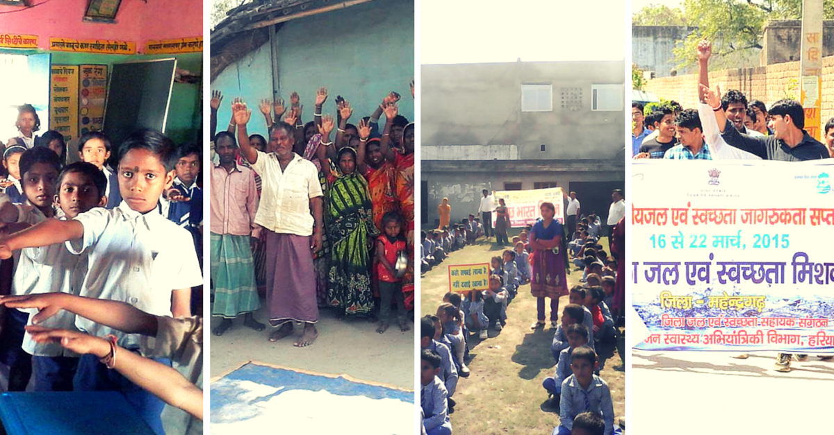 IN PHOTOS: The Silent Swachhata Revolution Led By Children In Over 1 Lakh Villages In India