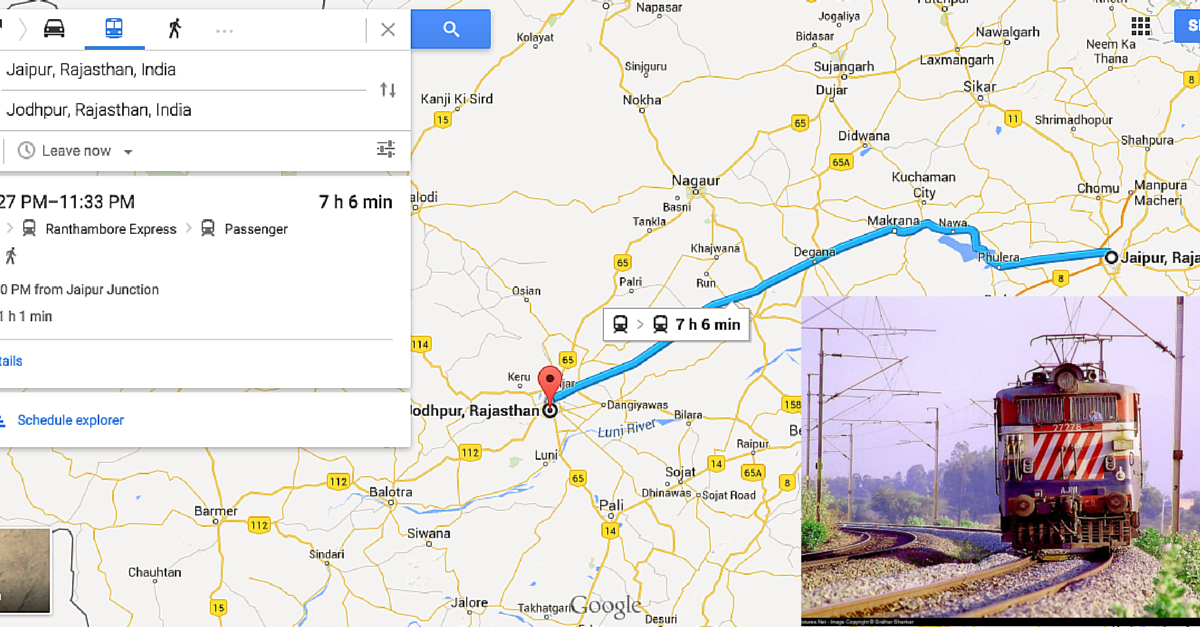 You can now check Indian Rail Schedules on Google Maps