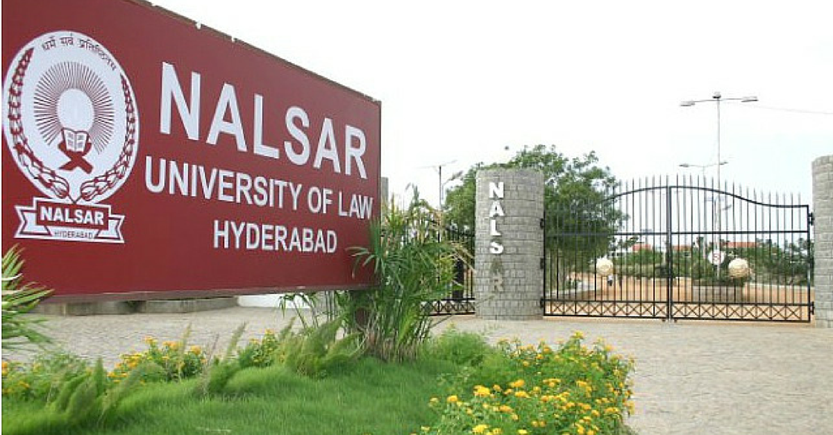 NALSAR Hyderabad gives out India's first Gender Neutral Degree
