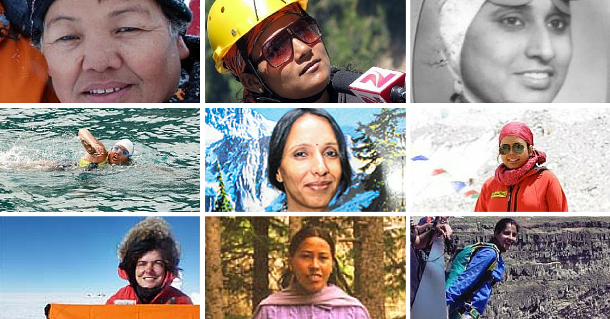 9 Female Adventurers who Conquered the Highest Mountains and Deepest Oceans to make India Proud