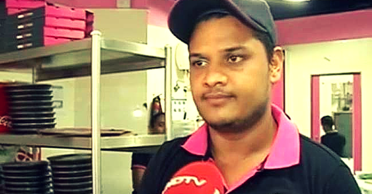 A Pizza Delivery Boy Rescued nearly 25 caught in a Mumbai High-Rise Fire