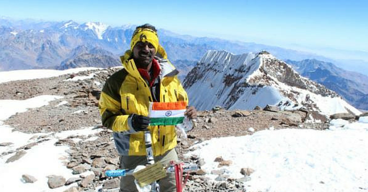 No Mountain was Too High to Climb for this Daring Indian Mountaineer