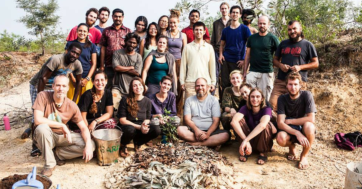 How Volunteers from 50 Countries Transformed 70 Acres of Arid Land into a Lush Forest in Puducherry