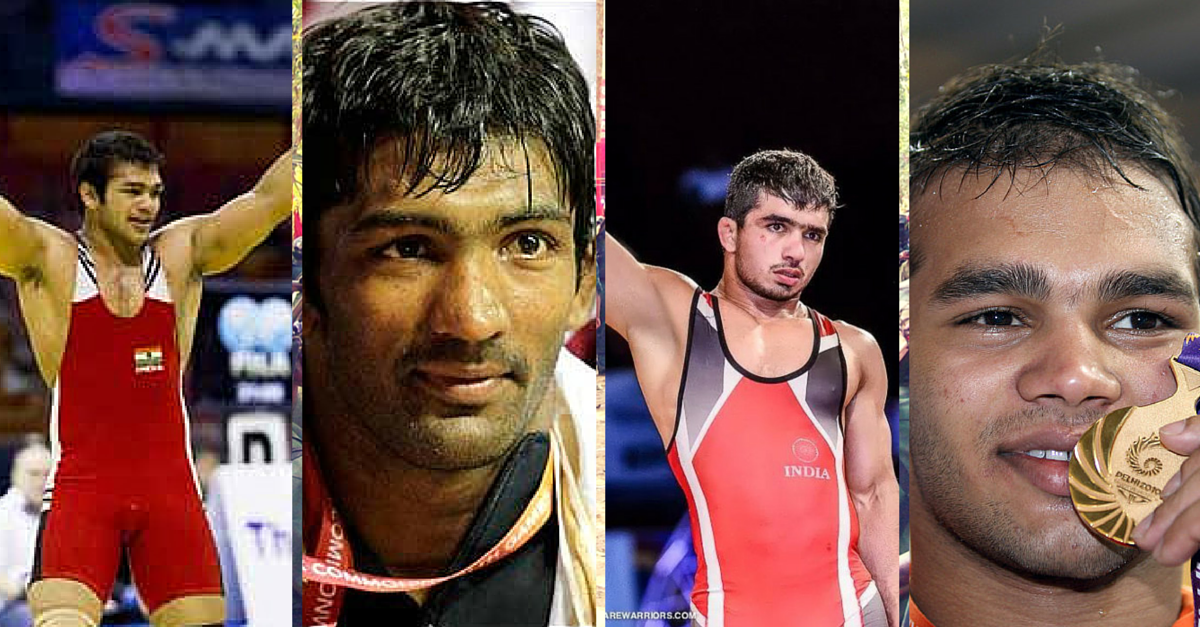 4 Indians Bag Gold in International Wrestling Tournament