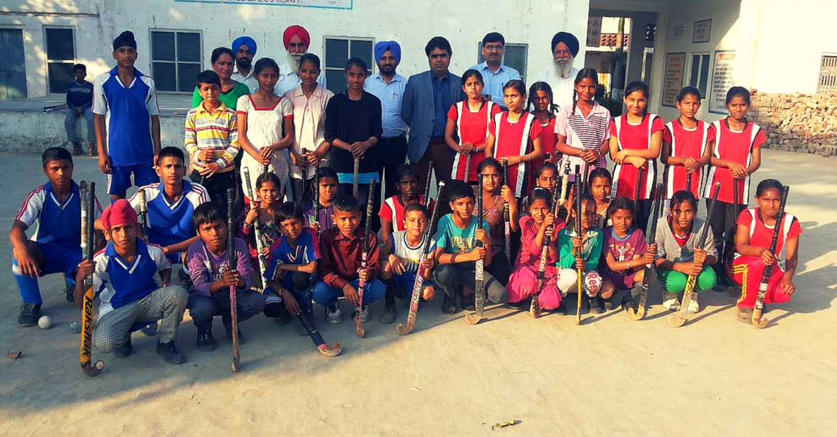 How Residents of One Village in Ludhiana are Using Hockey to Help Underprivileged Kids Fight Poverty