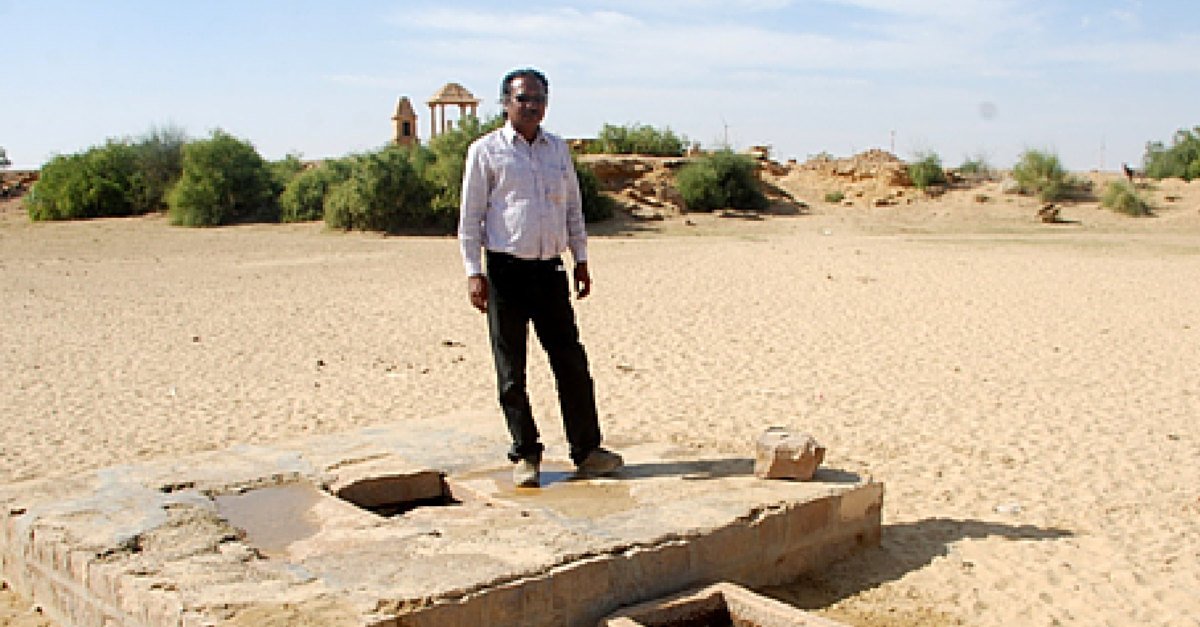 His Traditional Rainwater Harvesting Techniques are Helping a Parched Rajasthan Conserve Water