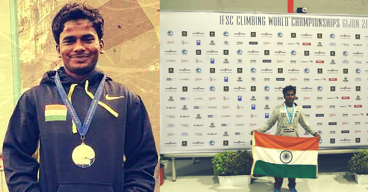 How Paraclimber Kumar Manikandan Conquered Polio and Poverty to Win Yet Another Silver for India