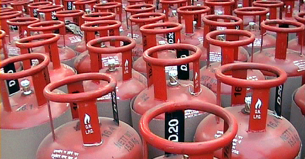 10 Lakh Consumers Gave up their LPG Subsidy Under the 'Say-no-to-LPG-Subsidy' Campaign