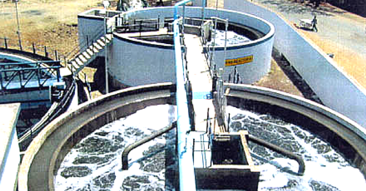 A Plant in New Delhi will turn Sewage into 66,000 Litres of Drinking Water Daily