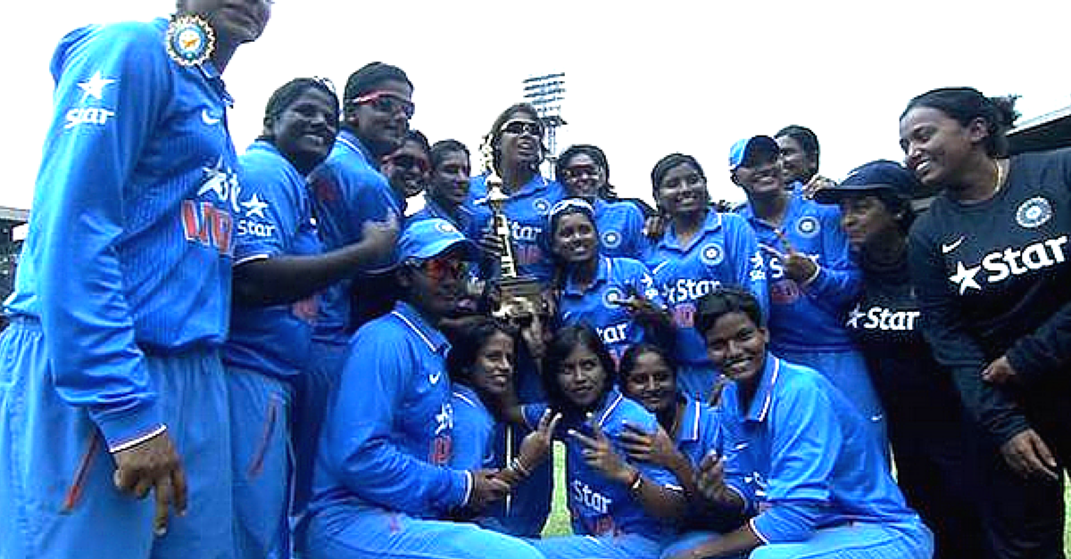 Indian Women's Cricket Team defeats New Zealand and Wins the Series