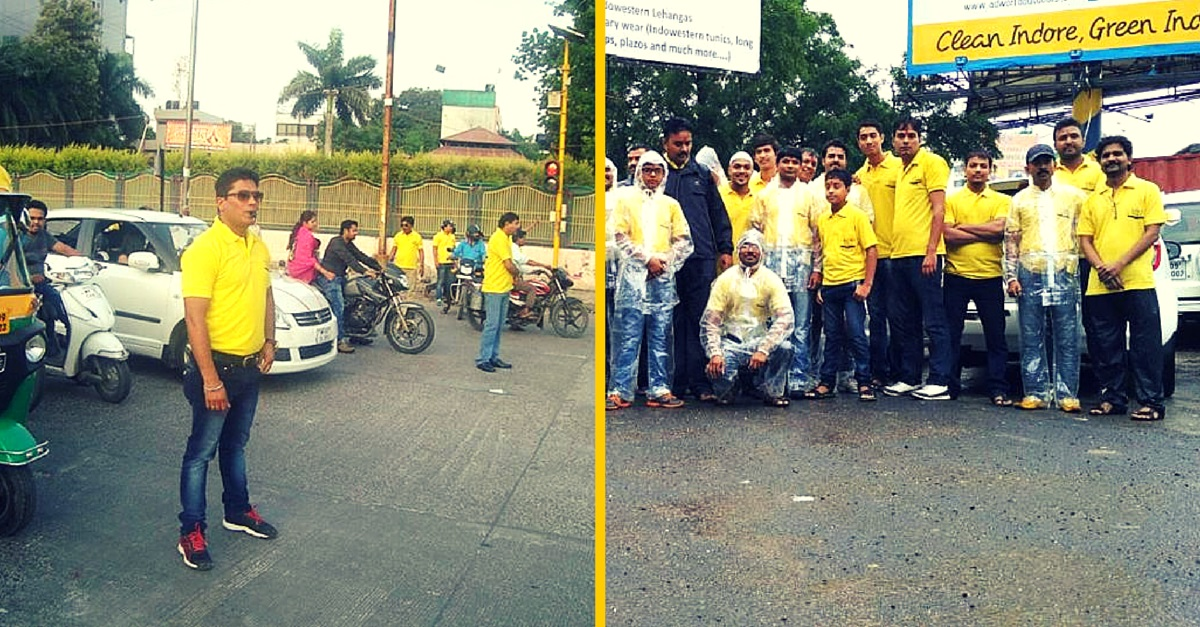 Every Weekend, This Group of Volunteers Is out Clearing Jams on Indore Roads
