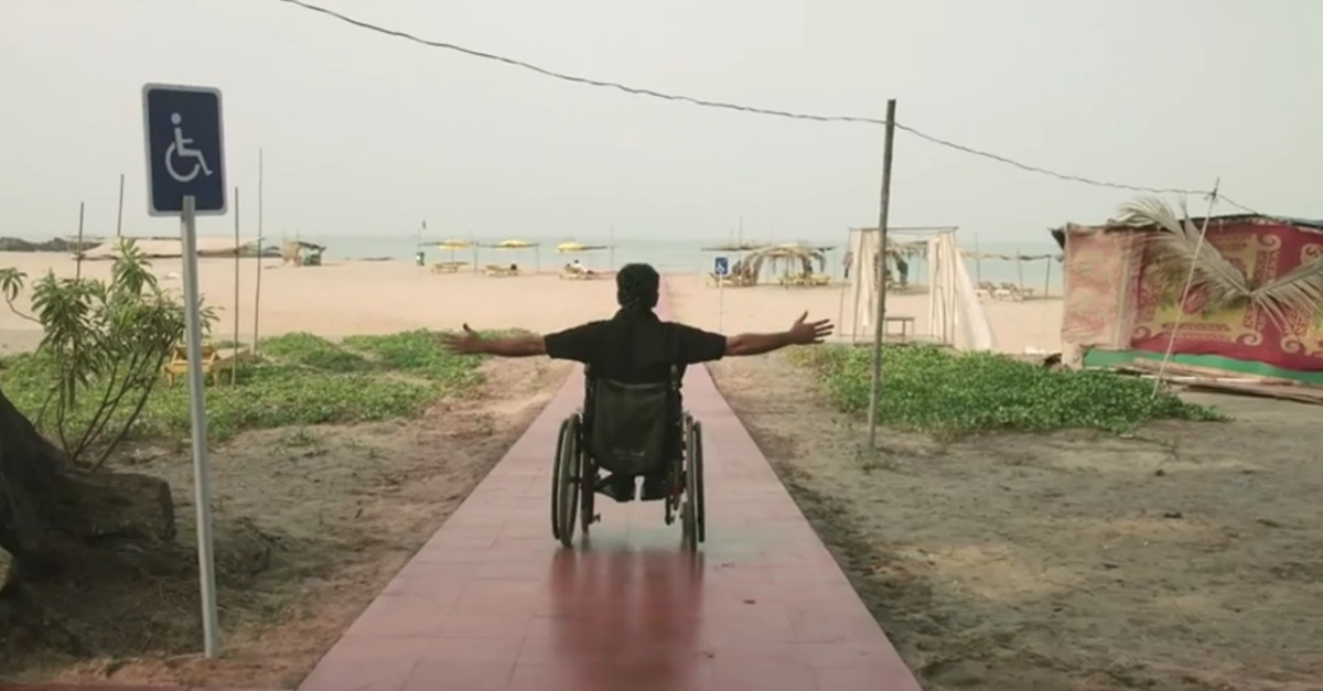 VIDEO: How One Small Idea Helped Several People on Wheelchairs Go to the Beach