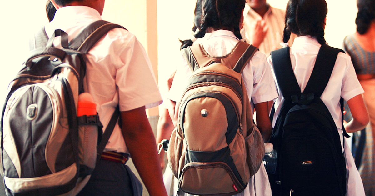 Do You Have Any Ideas on How to make School Bags Lighter? Then Tell the Government!