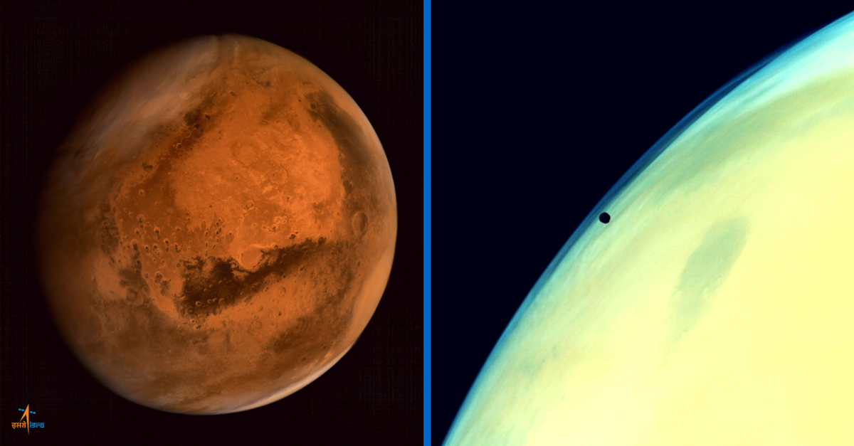 11 'Out-Of-This-World' Photos Sent by Mangalyaan That Made Us Go WOW!