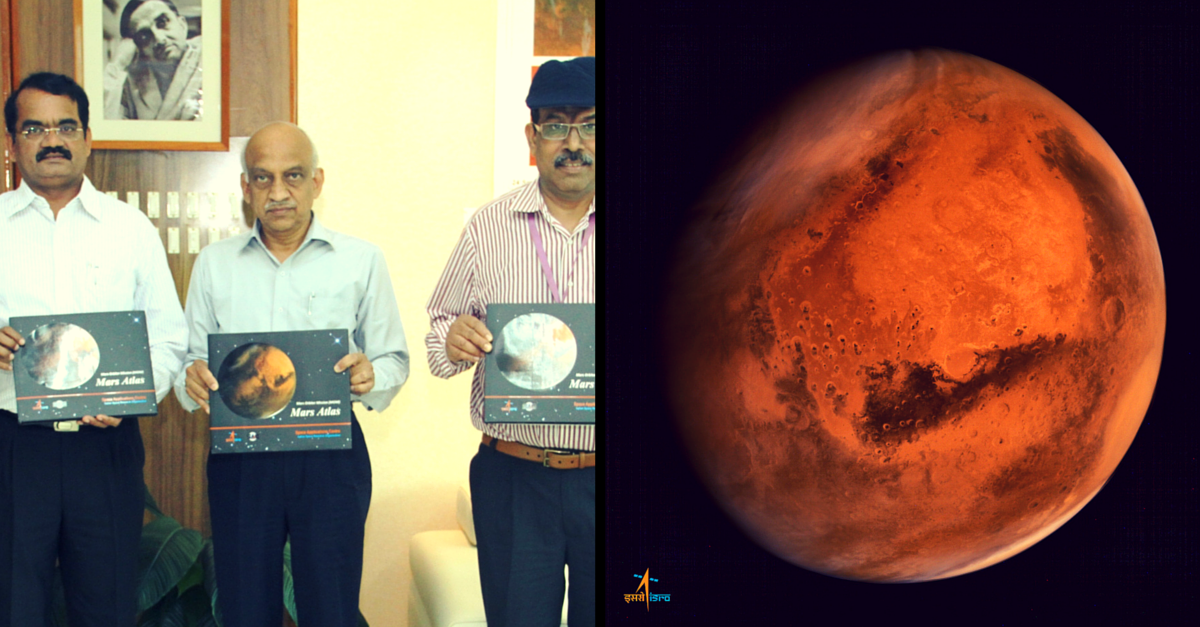 It Was Mangalyaan's First Birthday, and ISRO Celebrated It with a Mars Atlas