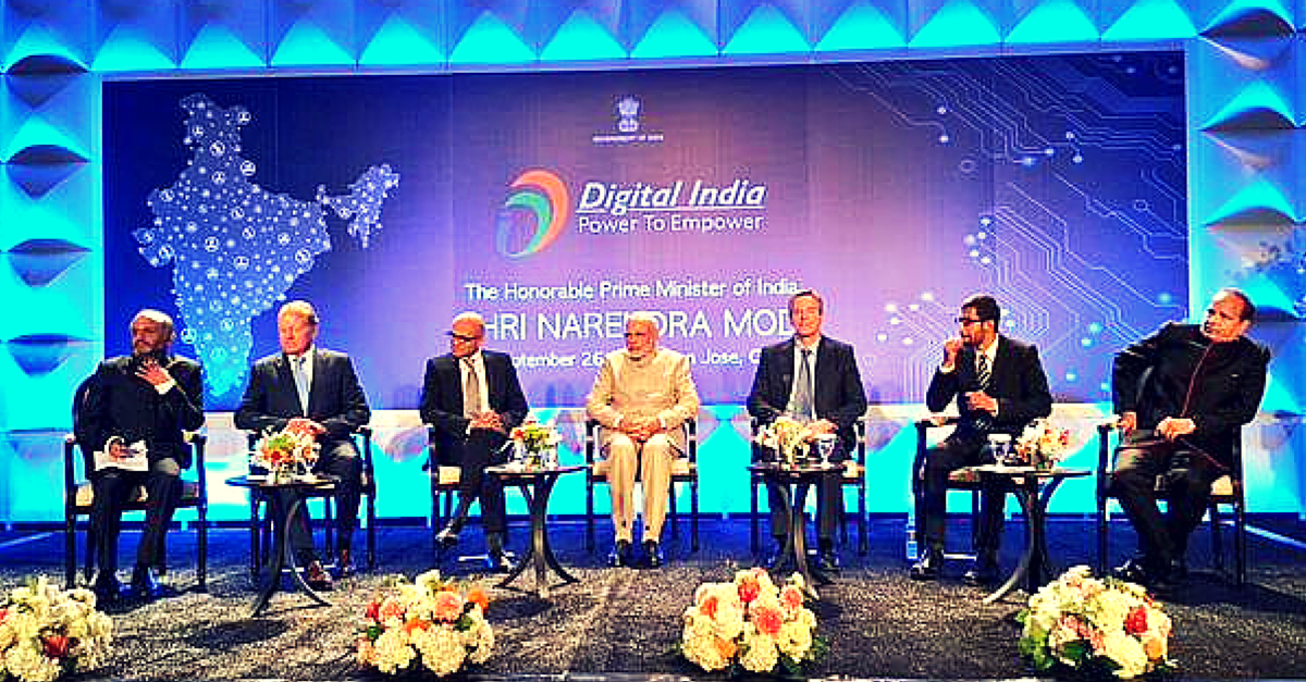 How 5 of the Most Powerful IT CEOs in the World Are Going to Help #DigitalIndia
