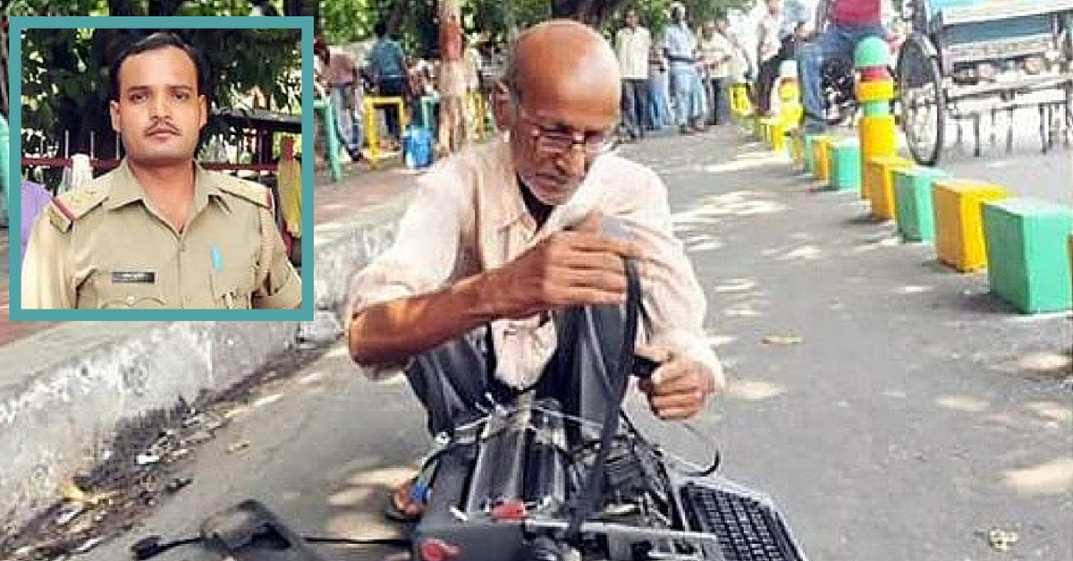 A Cop Broke This Old Man's Typewriter. What Happened next Will Restore Your Faith in Humanity
