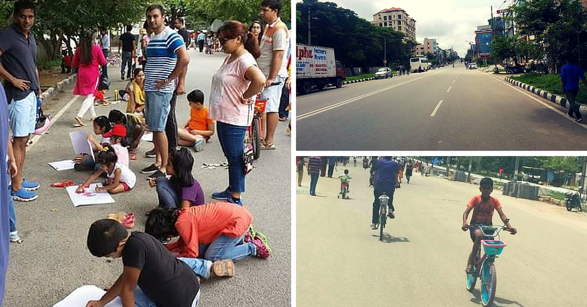 MY STORY: The Day I Saw Children Paint & the Blind Play Cricket on Bengaluru Streets