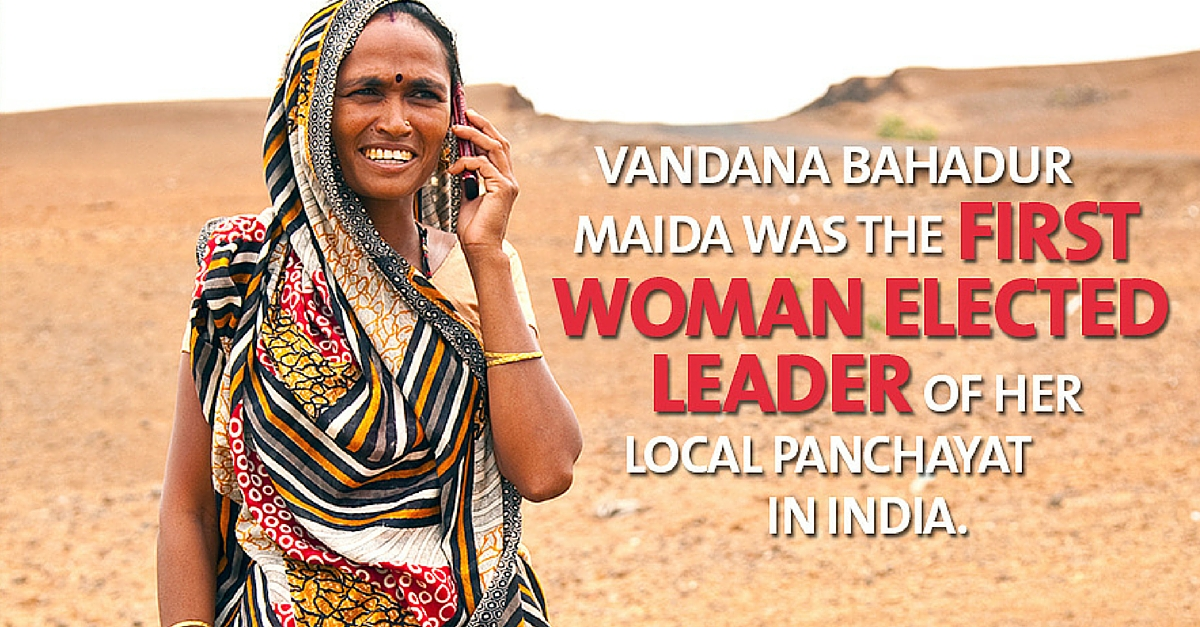 How Vandana Beat All Odds, and Her Husband, to Become the First Woman Sarpanch of Her Village