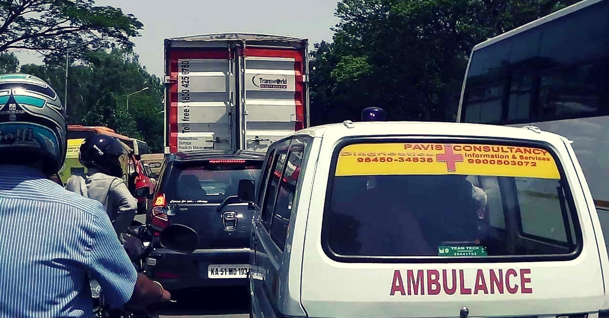 Karnataka Clears the Path for Ambulances – Drivers Blocking Them Could Lose Their License