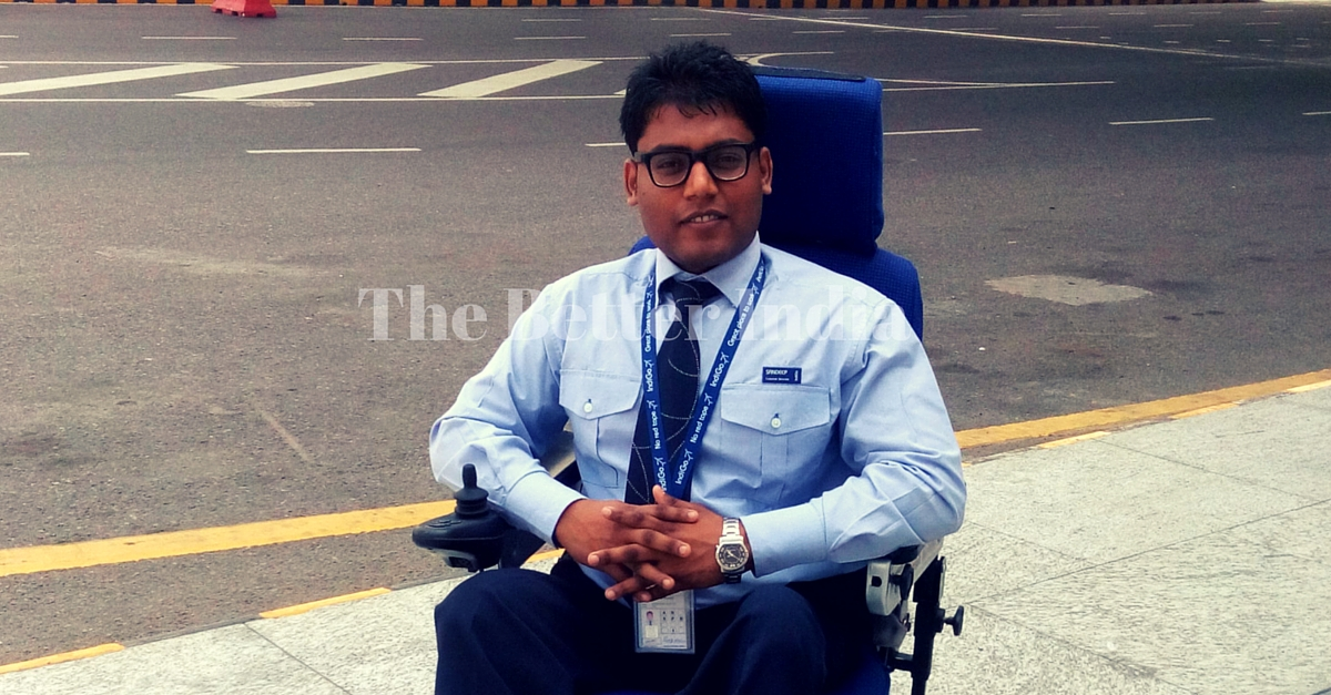 They Said his Life was Over. He Became India's First Paraplegic in the Aviation Industry Instead.