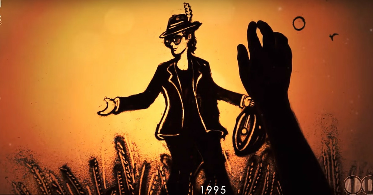 VIDEO: Watch 100 Years of Indian Cinema Come Alive in 200 Seconds of Sand Art