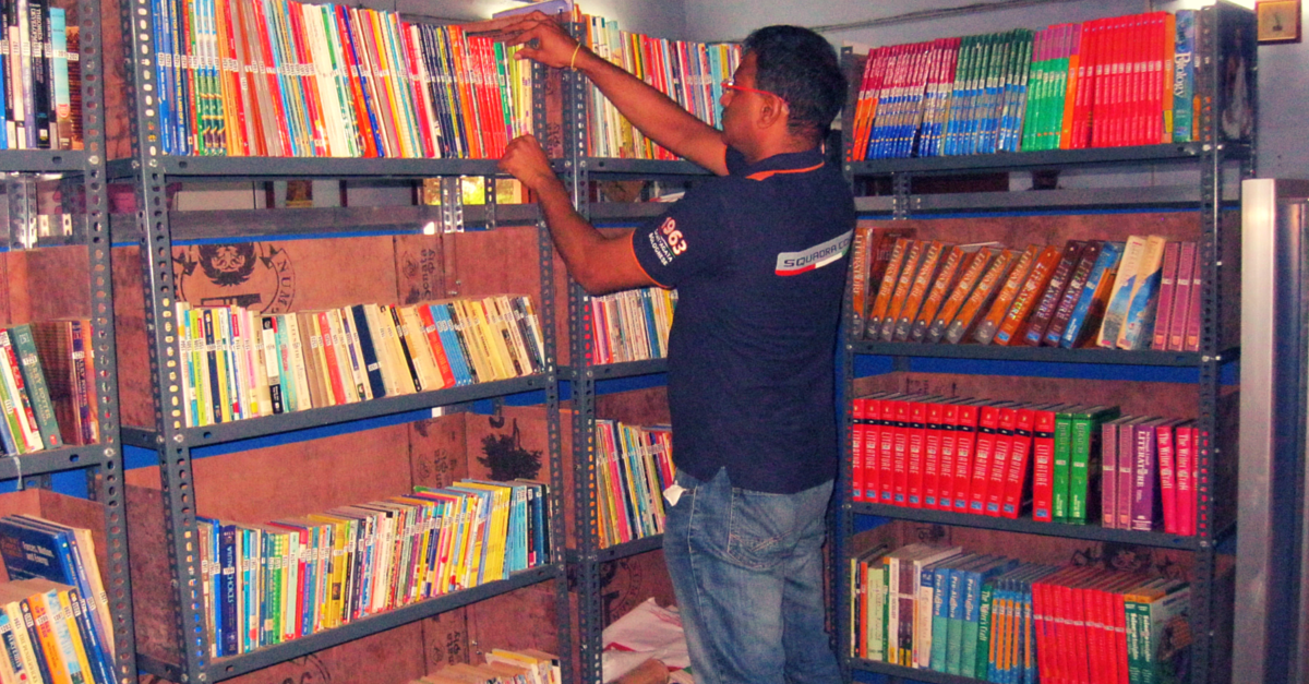 Why 5000 Books Travelled All the Way from USA to Find a Home in a Tiny Police Station in TN